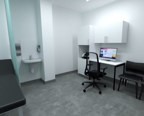medical centre gp north lakes brisbane queensland - doctors room - medpods medical centres