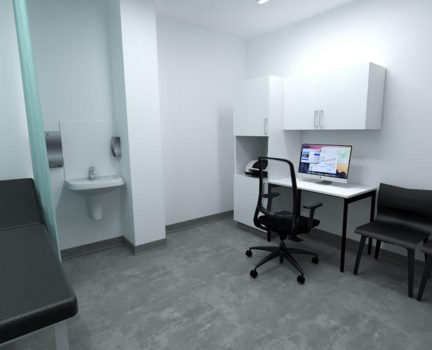 medical centre gp north lakes brisbane queensland - doctors room - medpods medical centres